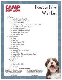 2015 Donation Drive Wish List (2)