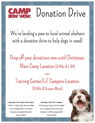 2015 holiday donation flyer